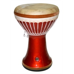 DARBUKA CLAY TECHNO ORANGE - Sumbati