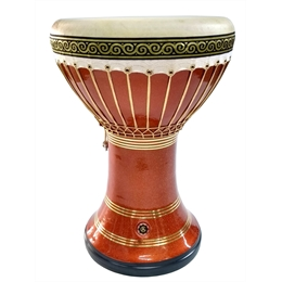 DARBUKA DOHOULLA CLAY - Techno Orange Premium